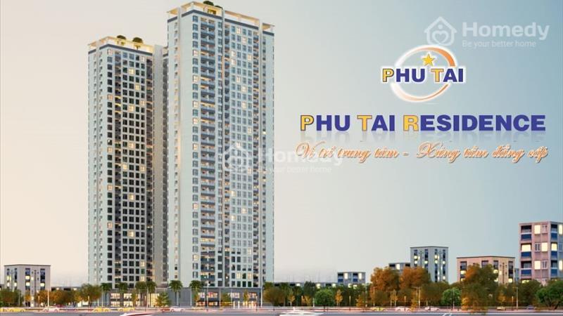 Căn hộ cao cấp Phú Tài Residence 2PN, diện tích 72.62m2, PTR.21.09, giá chỉ 25tr/m – Liên hệ PKD dự án: 0935264899