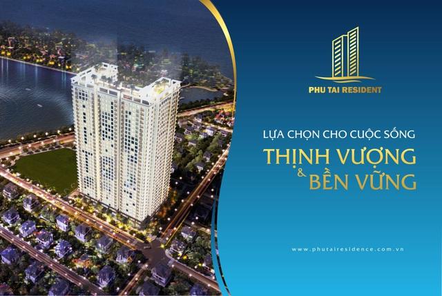 Căn hộ cao cấp mã số 01 tầng 21 Chung cư Phú Tài Residence, Hướng Tây Bắc, 2PN. Liên hệ: 0902349387(PKD Dự Án).