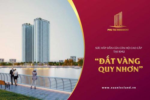 Căn hộ cao cấp Phú Tài Residence Quy Nhơn căn số 12A tầng 21, diện tích 72.62 m2, 2PN. Liên hệ: 0902349387 - PKD Dự Án